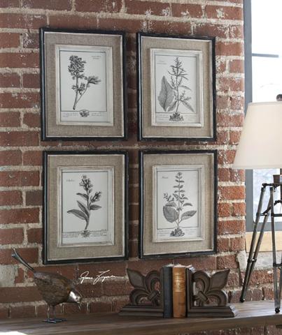 Uttermost Company - Casual Grey Study Framed Art - 32510