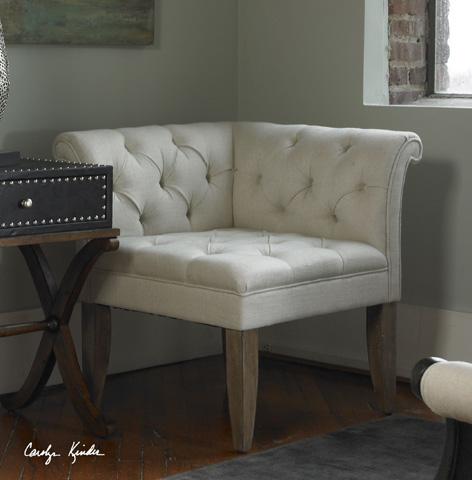 Uttermost Company - Tahtesa Corner Chair - 23125