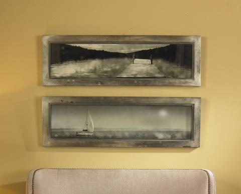 Uttermost Company - Twilight Sail Wall Art - 35232