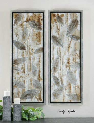 Uttermost Company - Pressed Leaves Wall Art - 41412