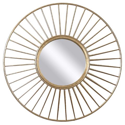 Uttermost Company - Caspian Round Mirror - 01132