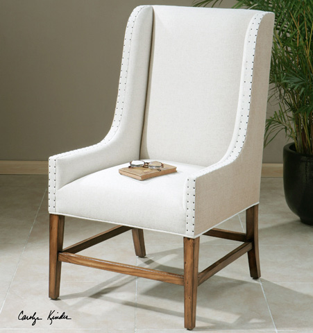 Uttermost Company - Dalma Wing Chair - 23189