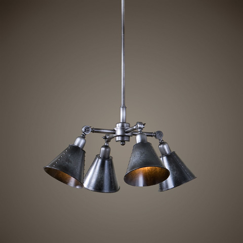 Uttermost Company - Fumant Four Light Pendant - 22075