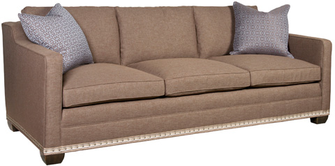 Vanguard Furniture - Stanton Three Cushion Sofa - 647-S