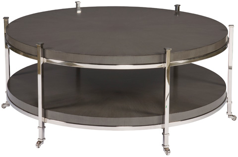 Vanguard Furniture - Gibson Round Cocktail Table - W387C