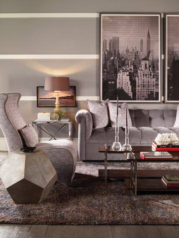 Vanguard Furniture - Carrier Spot Table - 9301E-DD