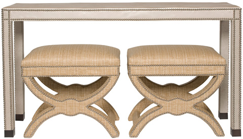 Vanguard - Vann Upholstered Sofa Table - V116S-UT