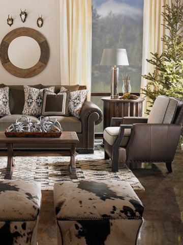 Vanguard Furniture - Ellis Ottoman - FL276-O