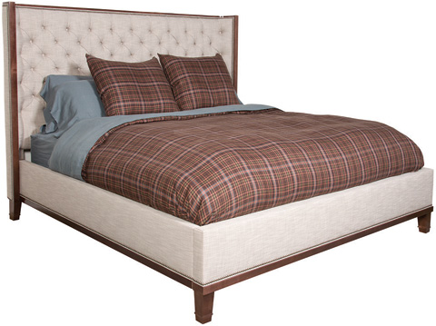 Image of Michael Weiss Barrett Tufted Upholstered Bed