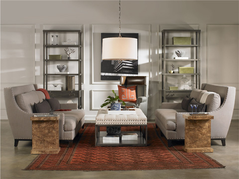 Vanguard Furniture - Wayland Large Rectangular Metal Ottoman - W58LM