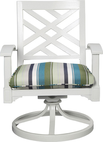 Lane Venture - Halyard Swivel Rocker Dining Chair - 10010-46