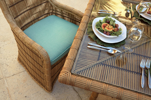 Lane Venture - Rafter - Celerie Rectangular Dining Table - 9506-84