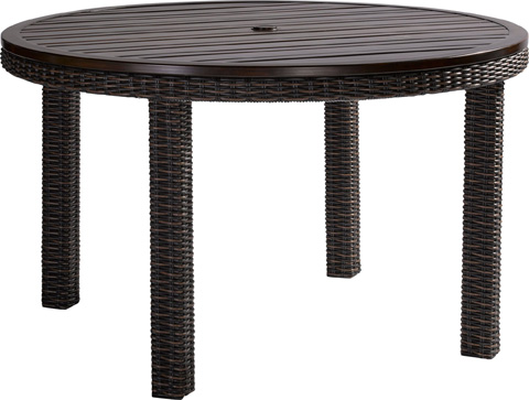 Requisite round dining table 9529 52 lane venture for Table 52 prices