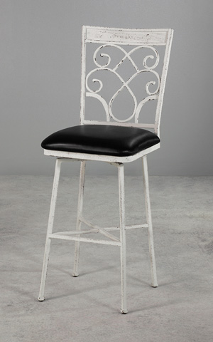 Wesley Allen - Woodward Iron Barstool - B219H30