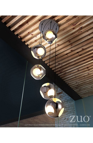 Zuo Modern Contemporary, Inc. - Meteor Shower Ceiling Lamp - 50102