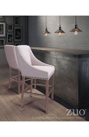 Zuo Modern Contemporary, Inc. - Indio Bar Chair - 98613