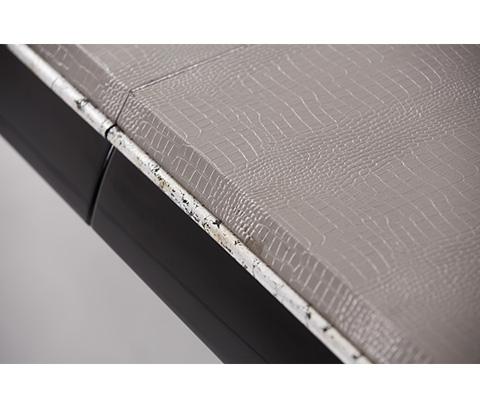Michael Amini - Rectangular Glass Top Dining Table - 19000-16