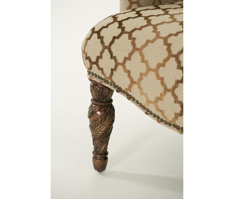 Michael Amini - Wing Chair - 72836-GRBRZ-55
