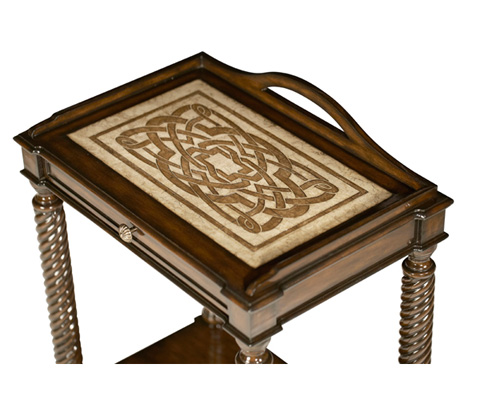 Michael Amini - Chairside Table - ACF-ACT-CTLN-003