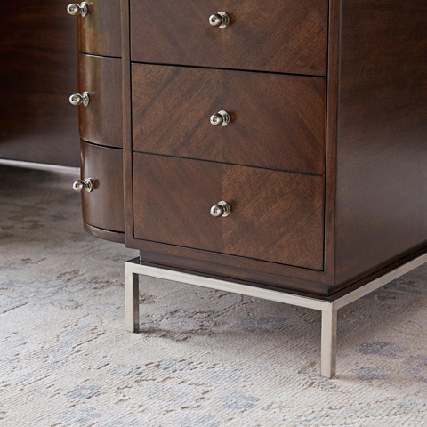 Ambella Home Collection - Moderne Partners Desk - 12571-320-076