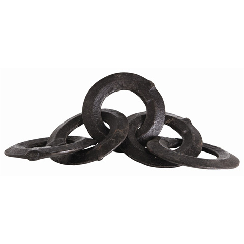 Arteriors Imports Trading Co. - Forged Ring Sculpture - DD2017