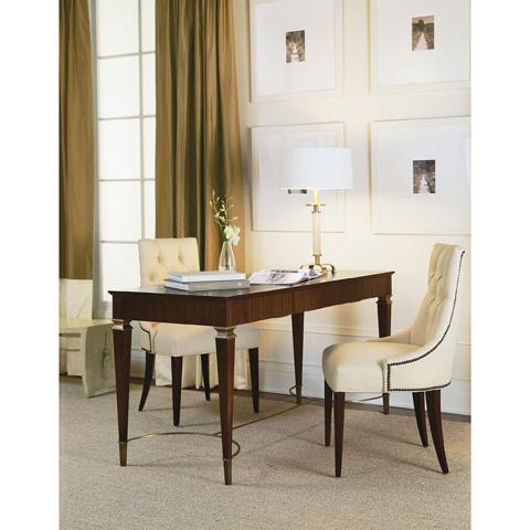 Baker Furniture - Ritz Dining Host Chair - 7841