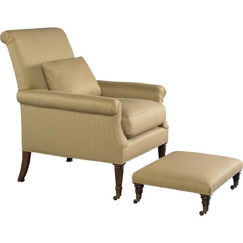 Baker Furniture - Dark Harbor Chair - 6125C