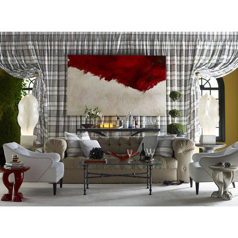 Baker Furniture - St. James Tufted Sofa - 6140S