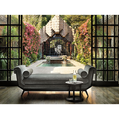 Baker Furniture - Lola Chaise - 6148CS