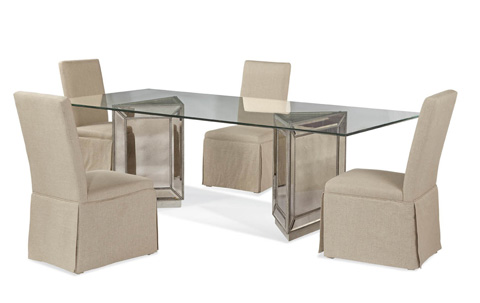 Bassett Mirror Company - Murano Dining Table - D2624-600