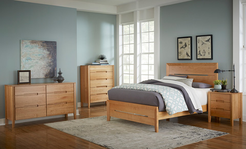Borkholder Furniture - Transitions Queen Panel Bed - 40-1501QXX