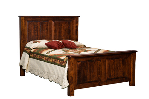 Image of Burwick Panel Bed in King