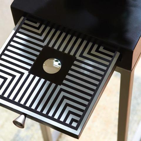Caracole - Black Tie Table - CON-ACCTAB-013