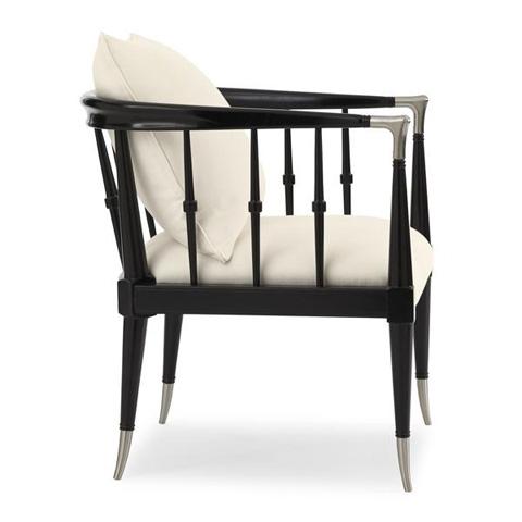 Caracole - Black Beauty Chair - UPH-CHAWOO-54B