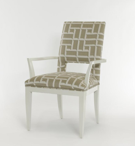 Century Furniture - Square Back Arm Chair - 849-532