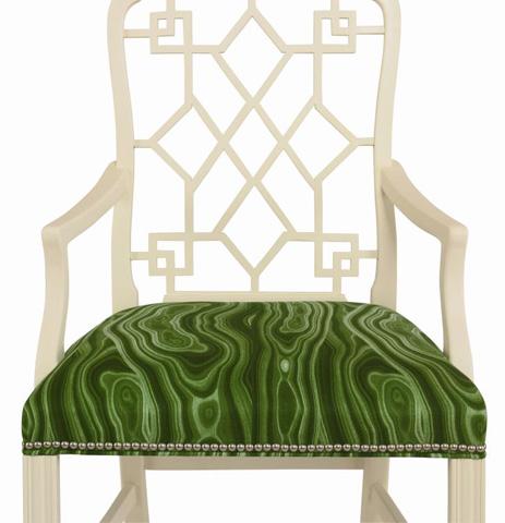 Century Furniture - Bund Lattice Back Arm Chair - 699-522