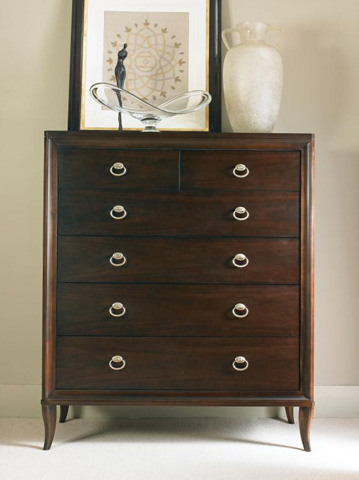 Century Furniture - Tall Six Drawer Chest - 339-203