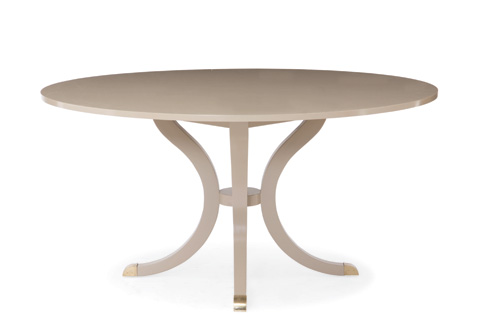 Century Furniture - Round Pedestal Dining Table - 339-306