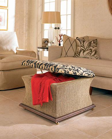 Century Furniture - O'farrell Storage Ottoman - 33-207