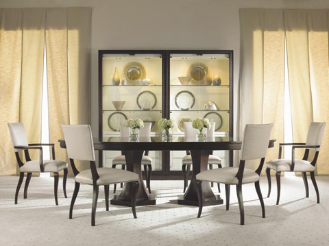 Century Furniture - Double Pedestal Dining Table - 33H-303