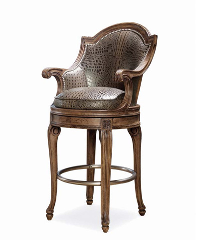 Century Furniture - Savoy Swivel Counter Stool - 3486C