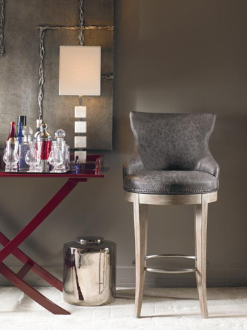 Century Furniture - Tracy Swivel Barstool - 3800B-4
