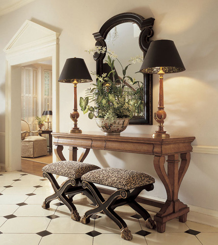 Century Furniture - Consulate Bench - 3986