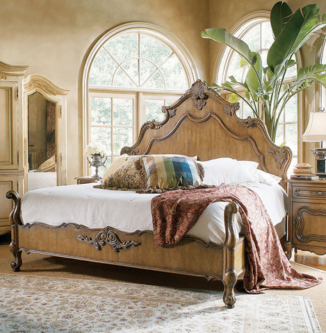 Century Furniture - Panel Bed - 769-126