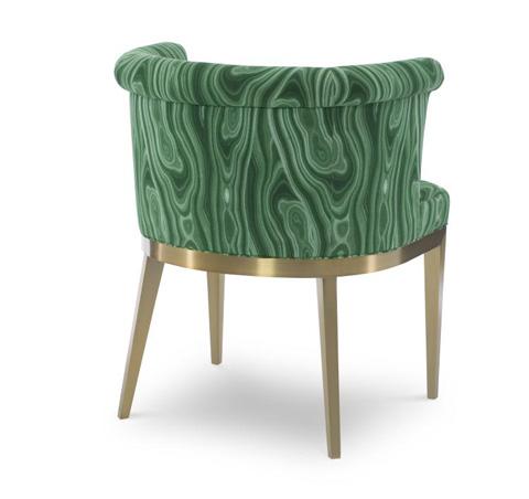 Century Furniture - Camille Brass Arm Chair - 3390A-2