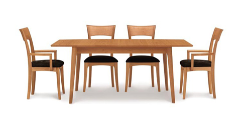 Copeland Furniture - Catalina Four Leg Extension Table - Cherry - 6-CAL-20