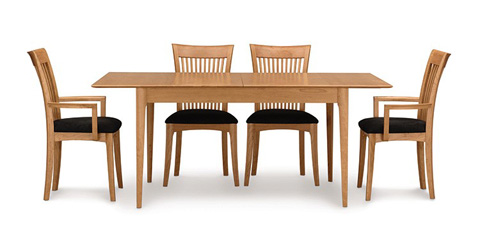 Copeland Furniture - Sarah Four Leg Extension Table - 6-SAR-25