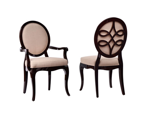 Curate by Artistica Metal Design - Oval Arm Chair - C201-012