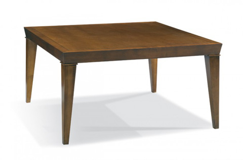 CTH-Sherrill Occasional - Square Cocktail Table - 80B