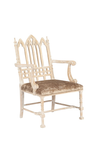 Currey & Company - Gothic Chair - 7052
